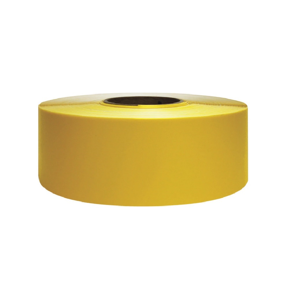 vloermarkeringstape geel 60m supreme v 5cm breed