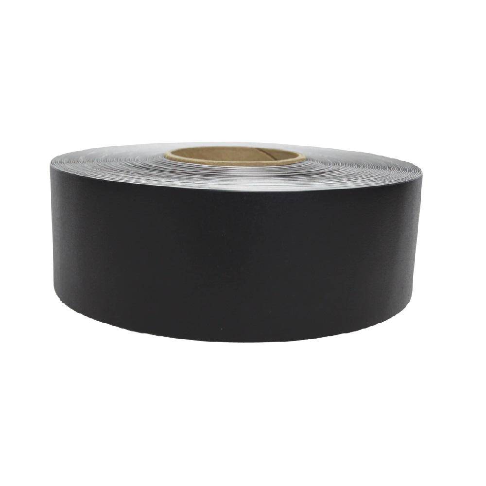 vloermarkeringstape zwart 60m supreme v 5cm breed