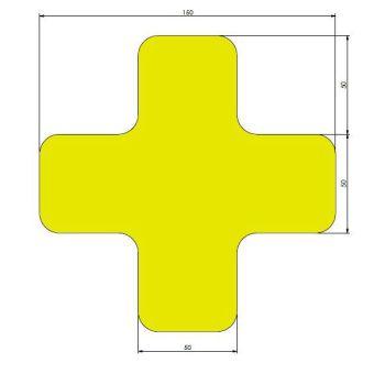 xtreme afgeronde xs geel 15cm x 15cm x 5cm aantalset30st