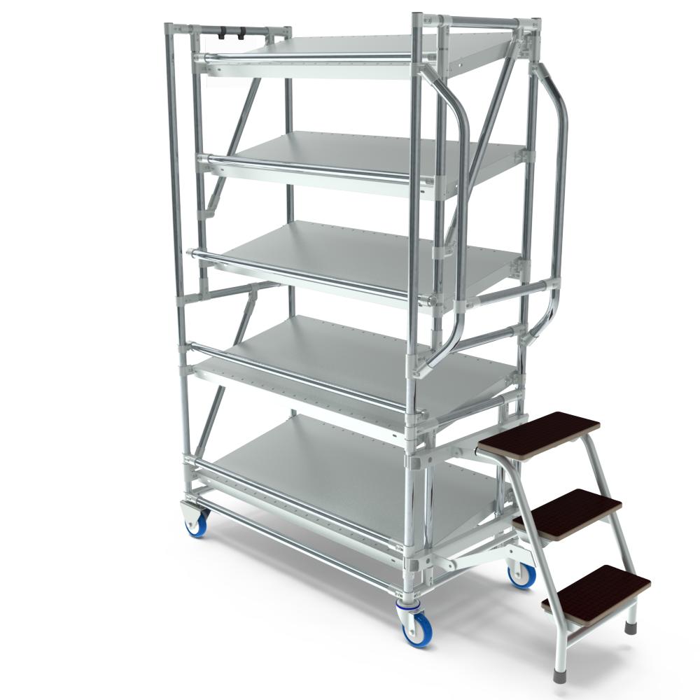 orderpickkar 1000 5 etages trap