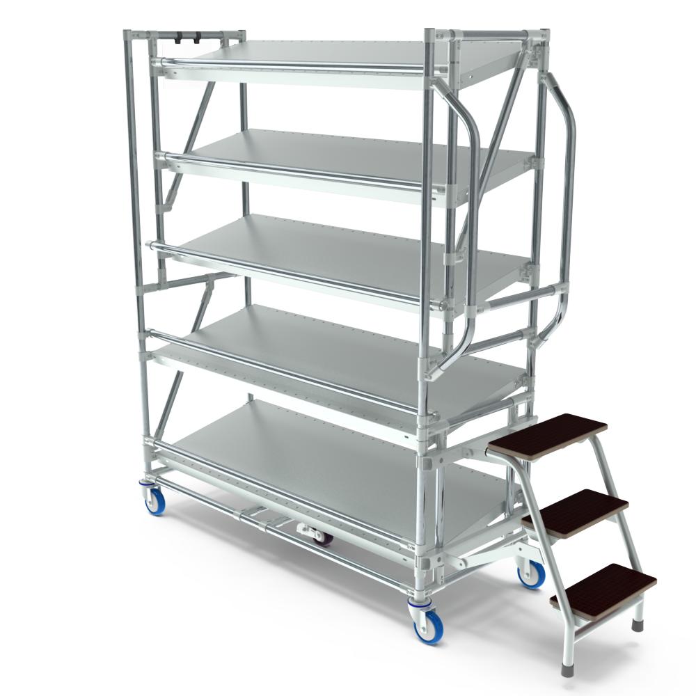 orderpickkar easy 1300 5 etages trap