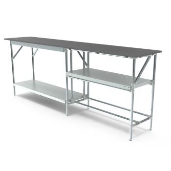 Werktafel, 2500x500mm