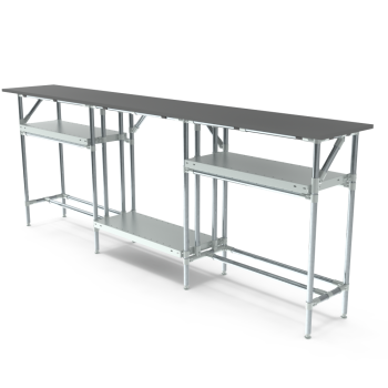Werktafel, 2500x400mm