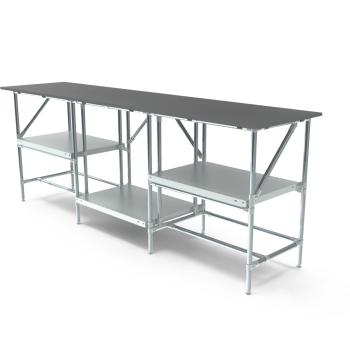 Werktafel, 2500x600mm