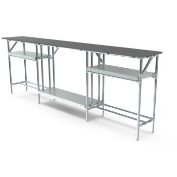 Werktafel, 2700x400mm