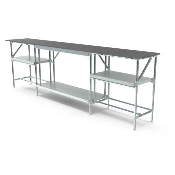 Werktafel, 3000x500mm