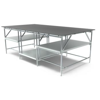 Werktafel, 2600x1400mm