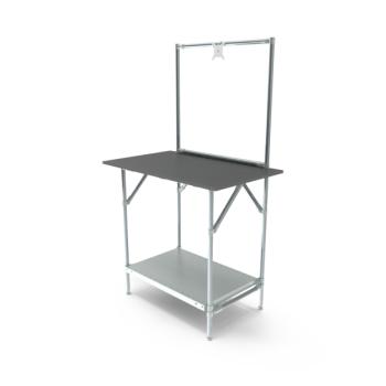 Werktafel met lage achterwand, 914x600mm