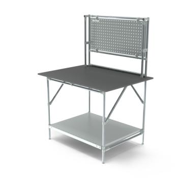 Werktafel met achterwand, 1164x900mm