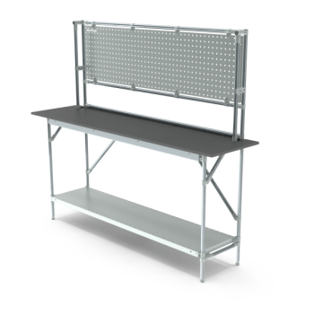 Tafel, hoge opbouw, hxbxd 950/2040x1864x500mm