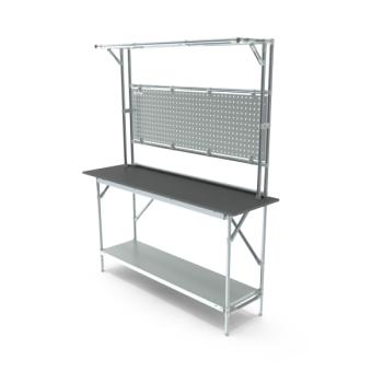 Tafel, werkplek opbouw, hxbxd 950/2040x1664x400mm