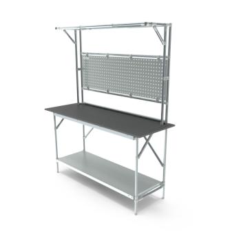Tafel, werkplek opbouw, hxbxd 950/2040x1664x500mm