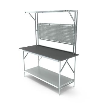 Tafel, werkplek opbouw, hxbxd 950/2040x1664x600mm