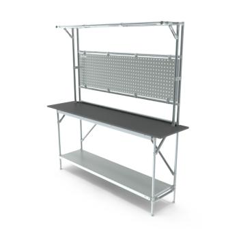 Tafel, werkplek opbouw, hxbxd 950/2040x1864x500mm