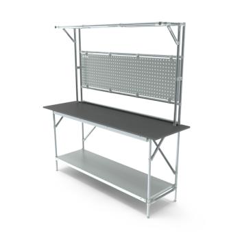 Tafel, werkplek opbouw, hxbxd 950/2040x1864x600mm