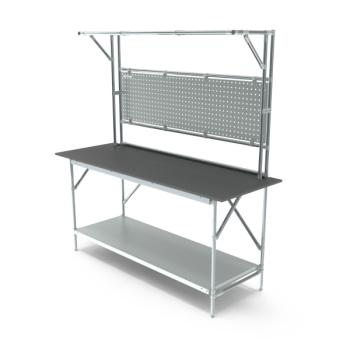 Tafel, werkplek opbouw, hxbxd 950/2040x1864x700mm