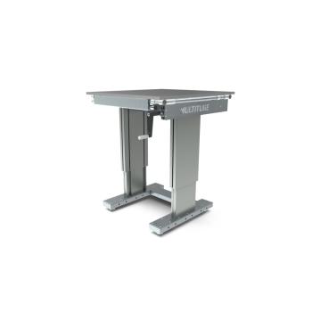 Werktafel in hoogte verstelbaar, manueel, 750x800mm