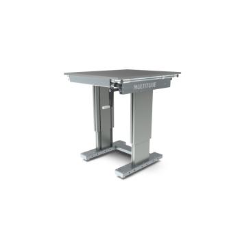 Werktafel in hoogte verstelbaar, manueel, 750x900mm
