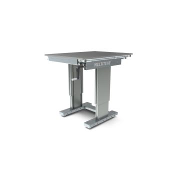 Werktafel in hoogte verstelbaar, manueel, 750x1000mm