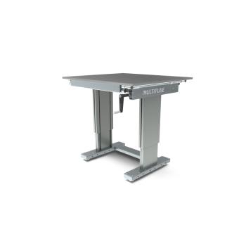 Werktafel in hoogte verstelbaar, manueel, 1000x900mm