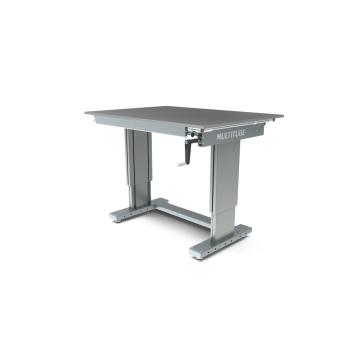 Werktafel in hoogte verstelbaar, manueel, 1250x900mm