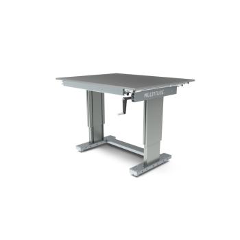 Werktafel in hoogte verstelbaar, manueel, 1250x1000mm