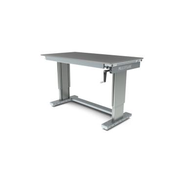 Werktafel in hoogte verstelbaar, manueel, 1500x800mm