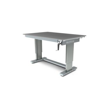 Werktafel in hoogte verstelbaar, manueel, 1500x1000mm