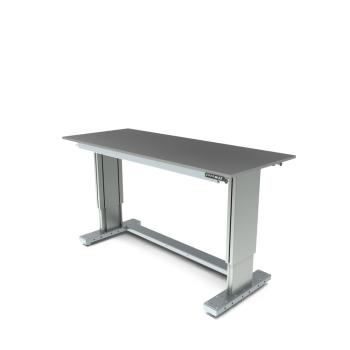 Werktafel in hoogte verstelbaar, elektrisch, 1750x700mm