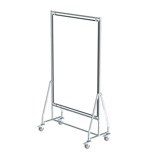 verrijdbaar whiteboard 100x150 cm