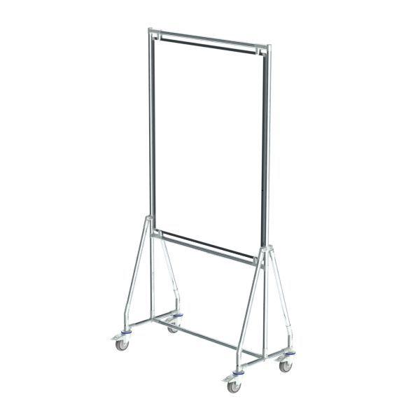 verrijdbaar whiteboard 90x120 cm