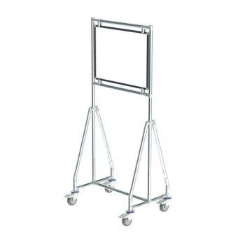 Verrijdbaar whiteboard, 60x45 cm